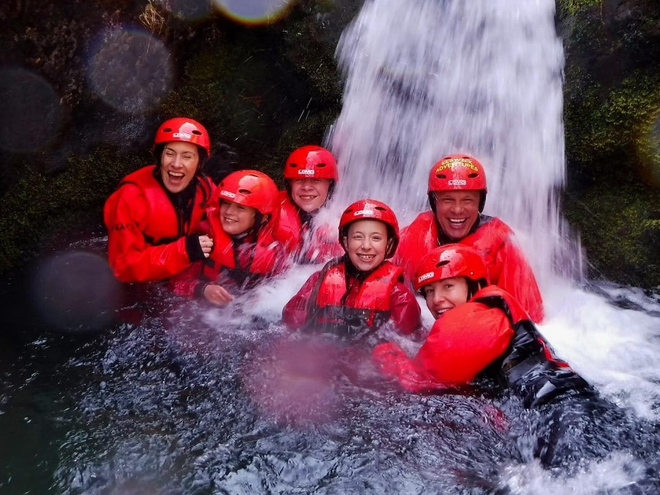 Family in the Lake District with Keswick Adventures