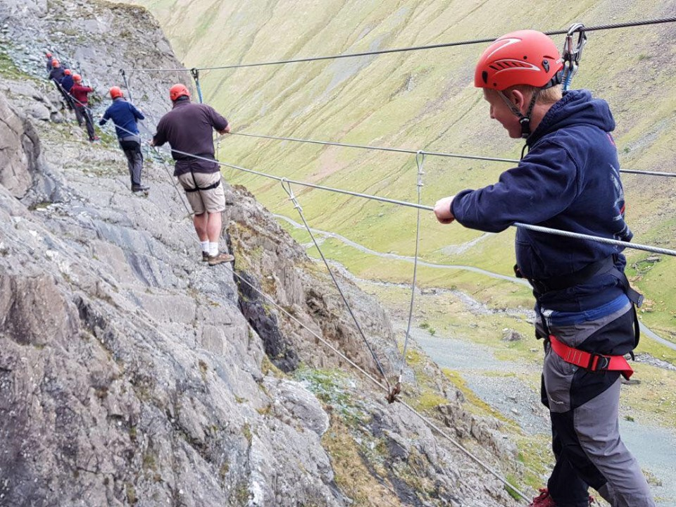 Via Ferrata Extreme in the Lake District with Keswick Adventures