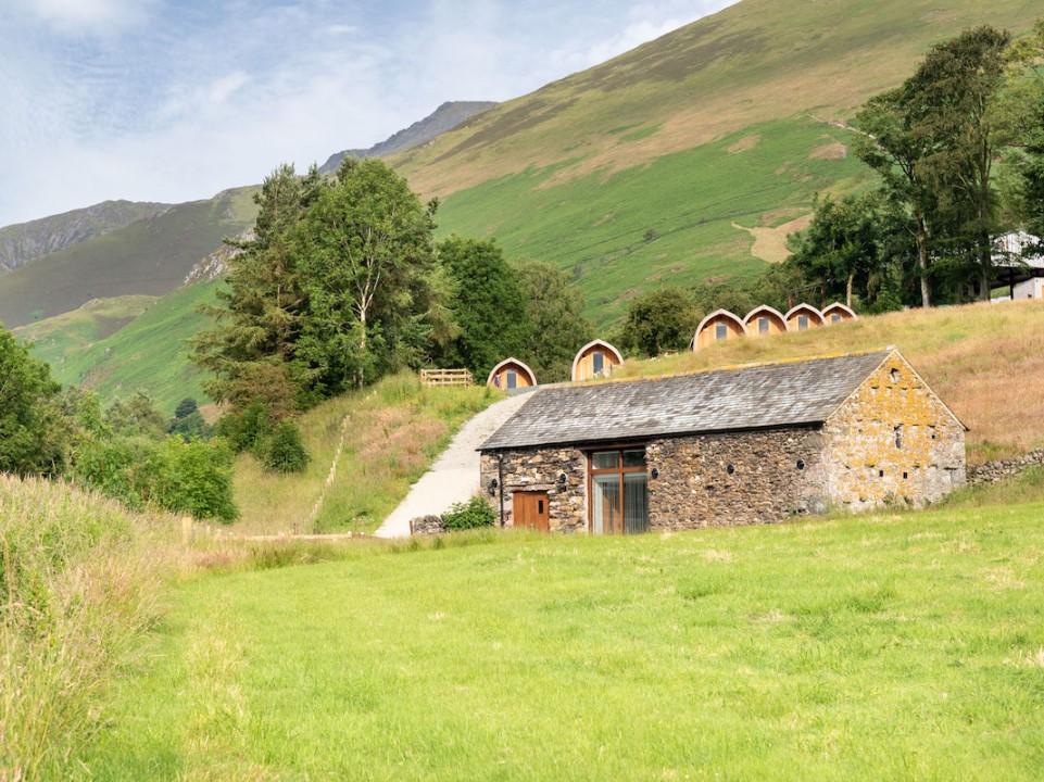 Camping Barn near Keswick in the Lake District
