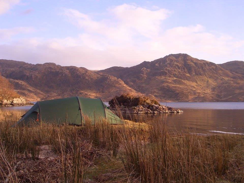 Camping on Duke of Edinburgh Exhibition in the Lake District
