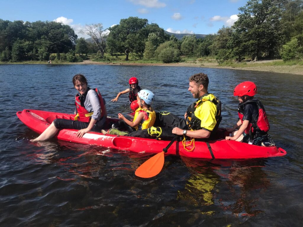 Kayaking in the Lake District with Keswick Adventures