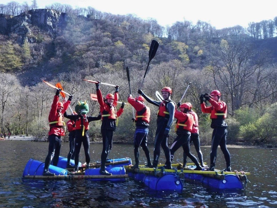 Stag do in the Lake District with Keswick Adventures