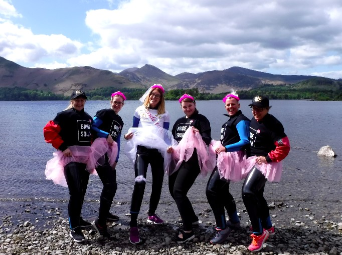 Hen party in the Lake District with Keswick Adventures