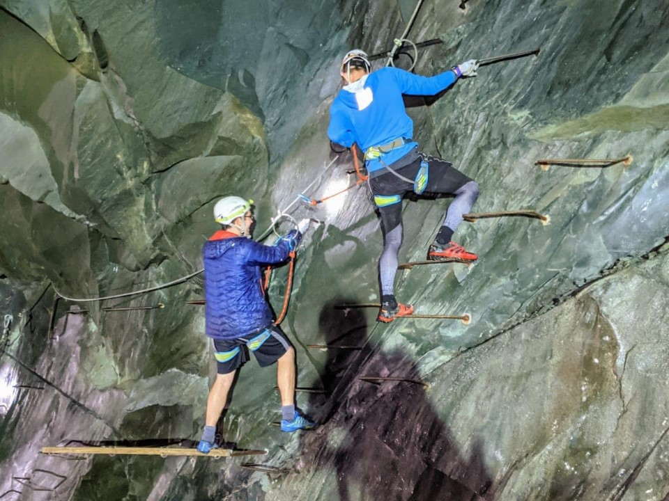Climb the Mine in the Lake District with Keswick Adventures