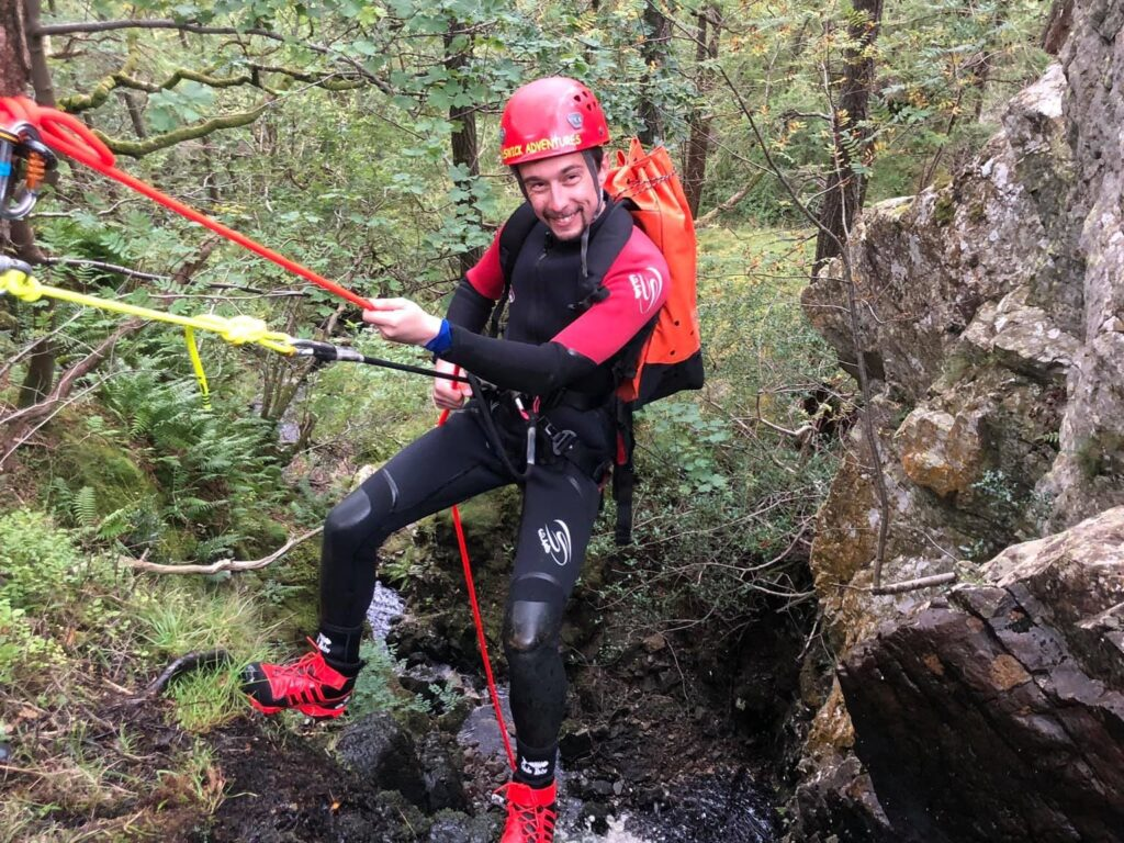 Canyoning in Skull Canyon