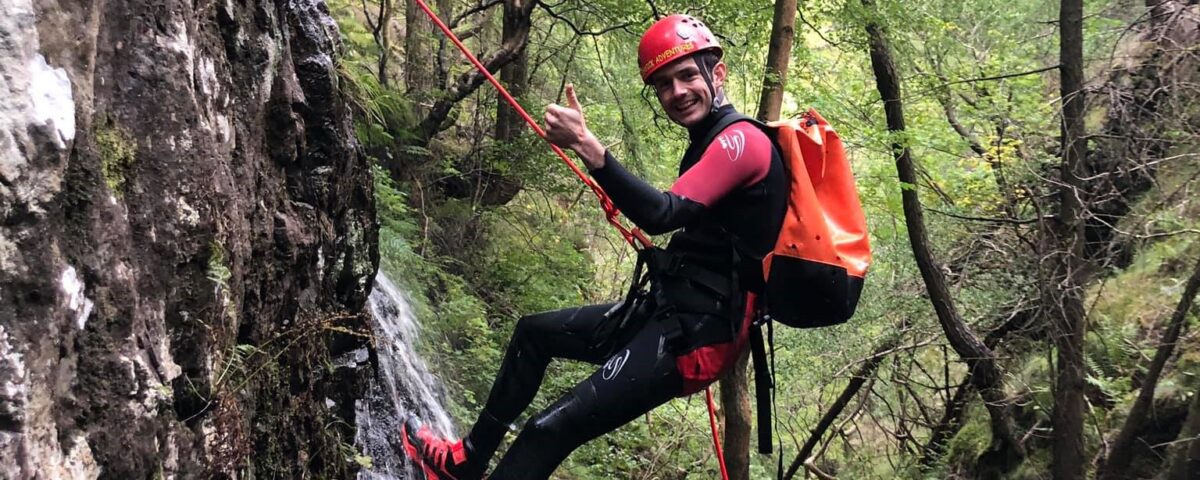 Canyoning with Keswick Adventures