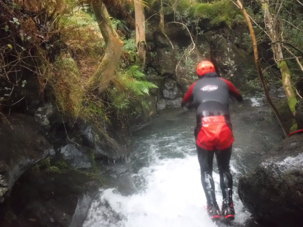 Canyoning in the Lake District with Keswick Adventures