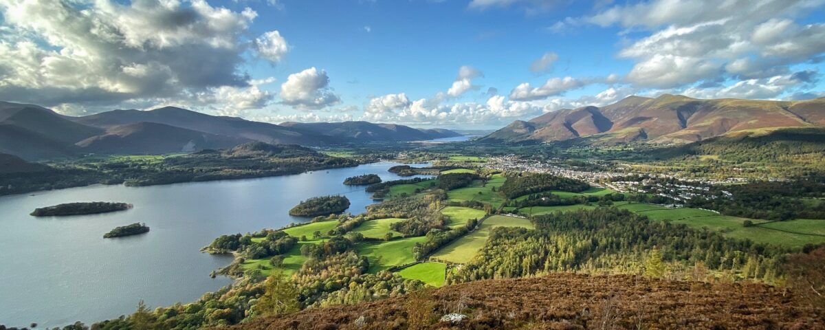 Derwentwater and Keswick in the Lake District