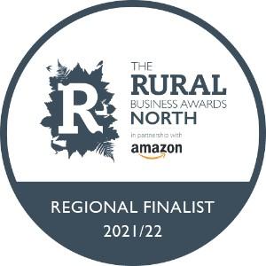 Rural Business Awards regional finalist 2021/22 badge