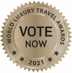 World Luxury Travel Awards Vote Now button