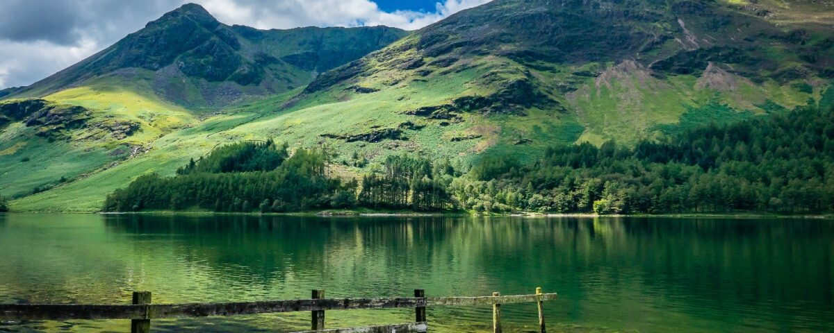 Mountain and lLake in the Lake District